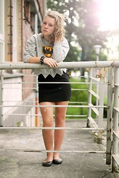Karolina B - Choies Sweatshirt, Skirt - BATMAN SWEATSHIRT