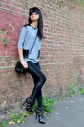 Lavi Lady - Internacionale Blouse, H&M Laggings, Fiore Collection Shoes - #12/07/13