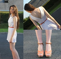 Katie O' Brien - Primark Dress, Primark Belt, River Island Heels - Savvy Sunday No2.