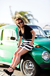 Sara E. - Asos Top, Asos Shorts, Collage Vintage X Krack Shoes - Green Bettle
