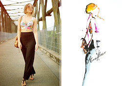 Sarah G. - Zara Bralet, H&M Skirt, C&A Lennon Sunglasses - Collect moments. Not things.