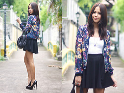 Patricia Prieto - Zara Jacket, American Eagle Top, Topshop Skirt, Alexander Wang Bag - We Can't Stop