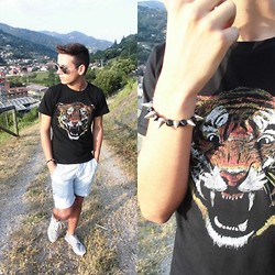 Pelayo Salor - H&M T Shirt, Primark Shorts, Primark Trainers, Blog - Only miss the sun when it starts to snow.
