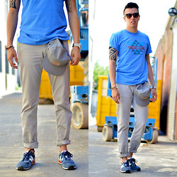 Blake Scott - Love Cap, New Balance Sneaks, Zerouv Sunglasses, Casio Watch, Maritime Supply Co Anchor Bracelet - Casual Tuesday