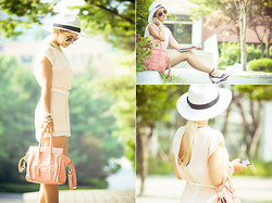 Olga Choi - Love Romper, Awwdore Necklace, Oasap Bag - If your lips feel lonely and thristy