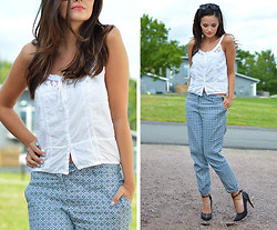 Josefine G - H&M Pants - Casual fresh