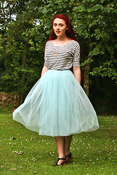 Megan McMinn - Oasap Shirt, Chic Wish Skirt - Never too late for tulle.