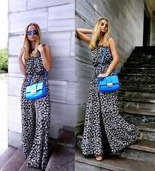 Violetta Privalova - Accessorize Jumpsuit, Asos Bag, Asos Sandals, Asos Sunglasses - ♥Jumpsuit♥
