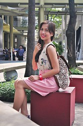 Rovie D. - Http://Www.Thebargaindoll.Com, H&M Top, Sm Gtw Skirt, Claire's Bag - School Girl