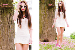 Dinah Miau - Kristines Collection Dress, Asos, Converse Pink - Living in a fairytale ** !*!
