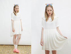 THE WHITEPEPPER - The Whitepepper Sailor Dress White, Juju Jellies - Hello Sailor