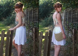 Paige A - Love Bralet, Skirt/Dress, Bag, Wedges - Go down to the sea and tell me what it is that you wanna be.
