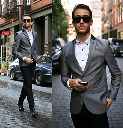 Adam Gallagher - Topman Suit, Shoes, Tko Watch - Chrome