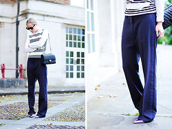 Daniella Robins - Theory Jumper, Acne Studios Trousers - Acne Theory