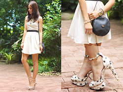 Patricia Prieto - American Eagle Dress, Gucci Bag, Zara Heels - Follow The White Rabbit