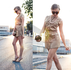 Darya Kamalova -  - SAFARI DRESS
