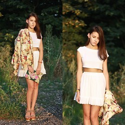 Korina Hn - Zara Blazer, Skirt - A flower lost in paradise.