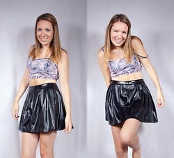Meg Davis - Urban Outfitters Crop, Marshalls Skirt - You need me, i don't need you