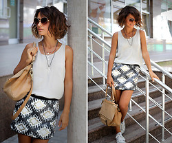 Galant-Girl Ellena - Givenchy Bag, Promod Skirt, Converse Sneakers - Today. или как меня развели на доллар.