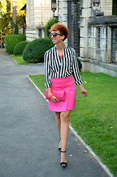 Valeria Biondi -  - Fluo and Stripes