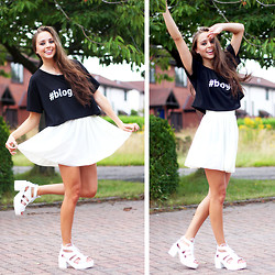 Rachael Jane H - In Love With Fashion #Blogger T Shirt, Wholesale 7 Sandals - The Prince's Trust | www.kokoluxe.com