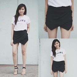 Mikee Li Bi - Origami Skort, Top, Necklace - Celine
