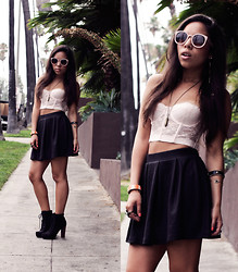 Passion Hana - Forever 21 Lace Crop - CROP IT LIKE IT'S HOT