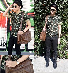 Gabriel Duarte - Topshop Military, Filson Bag - Photography and work