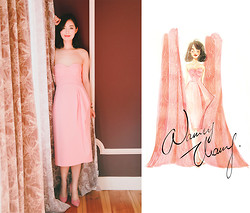 Nancy Zhang - Jil Sander Dress - The Bright Noon.