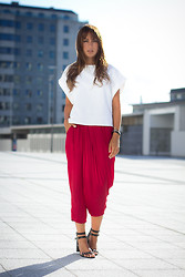 Lucita Y - Zara Pants - RED PANTS