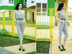 Kary Read♥ - Sheinside Jumpsuit, Ronzo Heels - Big city life