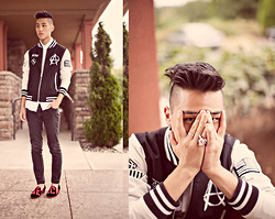 Ben Stephens - Modern Vice Mercy Loafer, Kill City Baseball Jacket - MERCY