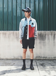 Zack T - Horace Jacket, Dr. Martens Shoes - We Glow In The Dark