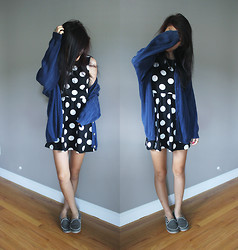 Gege Z - Forever 21 Dress, Antique Store Cardigan, Rocketdog Shoes - Stand by me