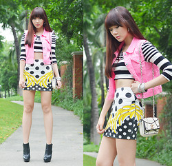 Camille Co - Yesah Vest, Yesah Skirt - Going Bananas