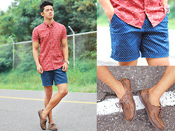 David Guison - Flying Dutchman Button Down, Flying Dutchman Shorts, Flying Dutchman Boat Shoes - Missing Summer