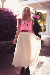Jessica Christ - Skinny B*Tch Apparel Top, Choies Skirt, Modekungen Creepers - SICK OF PEOPLE LIKE YOU...