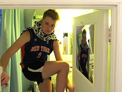 Jane Robertson - Cheetah Sweetah, Knicks Jersey - Fruits