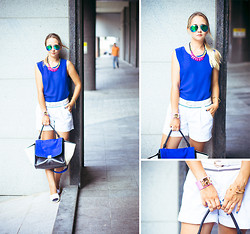 Olga Choi - Woakao Bag, Zerouv Glasses, Forever 21 Top - Waiting for adventures