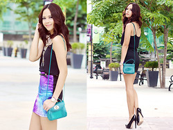 Patricia Prieto - Topshop Top, Furla Bag, Aldo Heels - To Infinity and Beyond