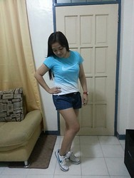 Leign Gamit - Nike T Shirt, Nike Sneakers - Can't get enough swoosh