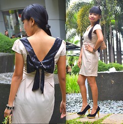 Waren Jean Go - Tao Yi Fang Dress, Beads And Pearls Accessories, So Fab! Shoes - Sophistication
