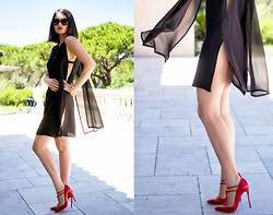 Doina Ciobanu - Jessica Choay Dress, Christian Louboutin Shoes - A SECRET PLACE