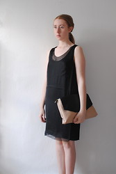 Eleanor J - Topshop Dress, Zara Bag - Illusions.