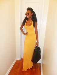 Gilecia Dias - Boohoo Maxi Dress - THE BRAVE SHADE!