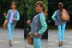 Paulina Koziejowska - Colorshake Jacket, Cos Bag - Having fun with the mint