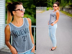 Amazing Fashioon - Jeansy - Loose appearance