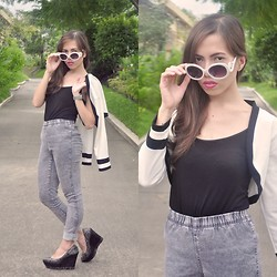 Rovie D. - Sm Gtw Blazer, Freeway Top, H&M Jeans, Charles And Keith Shoes - Mutitasking