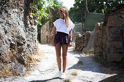 Lucita Y - Zara Shorts - STOP, DROP AND ROLL