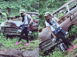 Jhan Jae Buted - Vintage Owl, Bench, Oxygen, Shoetopia Online, Blackbite Apparel - Fashion Spiritual Hunger:)
